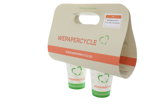 WEPAPERCYCLE Koffietray